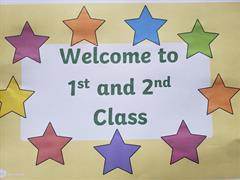 A big Hello to 1st & 2nd Class