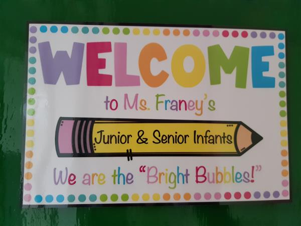 Ms Franey's Bright Bubbles - Welcome to our Class Blog