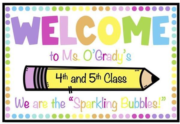 Ms. O'Grady's Sparkling Bubbles