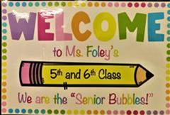 Hello from 5th and 6th Class!