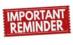 Reminder re: School Closure on Friday 25th June