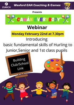 GAA for Junior Infants - 1st class